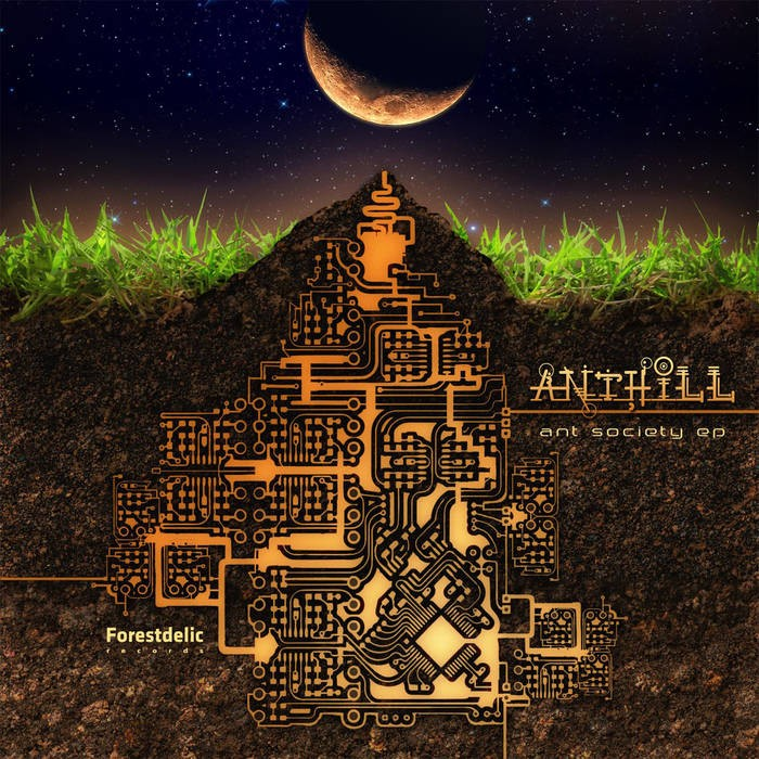 Forestdelic Records - ANTHILL - Ant Society