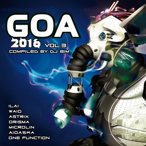 Yellow Sunshine Explosion - .Various - Goa 2016 Vol 3