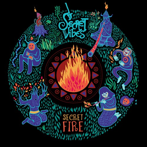 Hadra Records - SECRET VIBES - Secret Fire