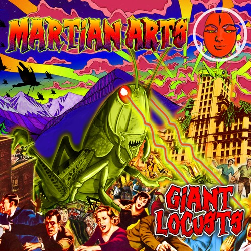 Tip World - MARTIAN ARTS - Giant Locusts